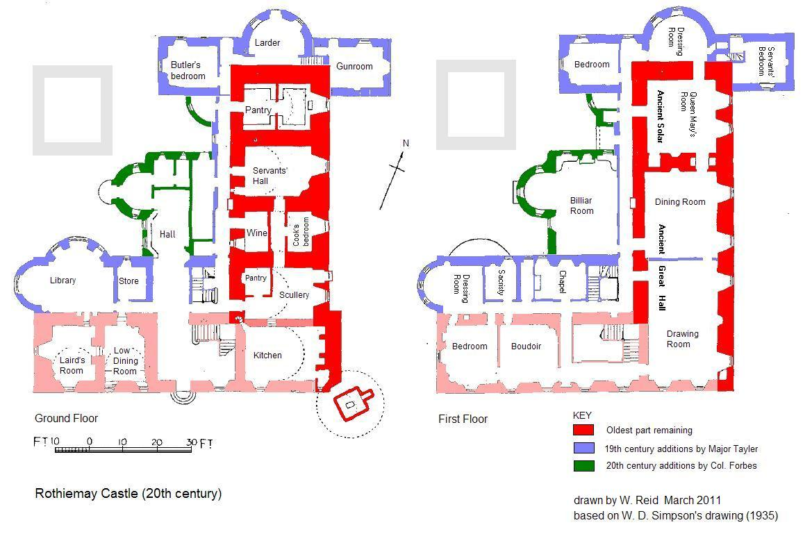 Rothiemay : Castle and Estate